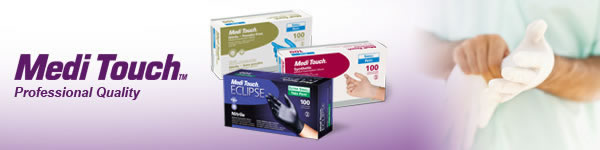 Medi Touch Professional Quality Medical Examination Gloves