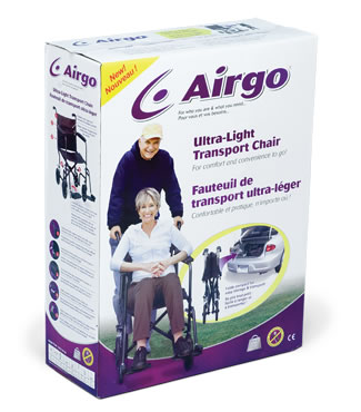 Airgo Ultra-Light Transport Chair